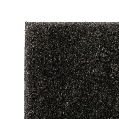 vidaXL Vloerkleed shaggy hoogpolig 160x230 cm antraciet