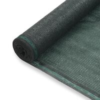 vidaXL Tennisscherm 2x25 m HDPE groen