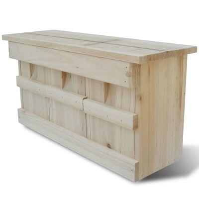 Nestkast voor huismus 44 x 15,5 x 21,5 cm