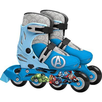 Marvel inlineskates Avengers jongens blauw maat 30/33