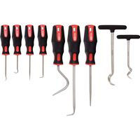 KS Tools Haken- en priemenset 9 st