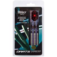 Abbey Darts 3-delige Dartset 24 g 85% wolfraam zilverkleurig