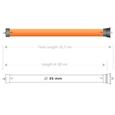 vidaXL Buismotoren 2 st 10 Nm