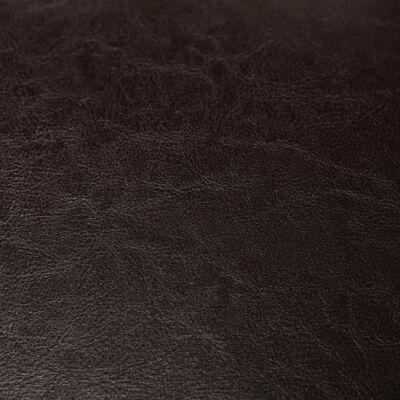 vidaXL Kuipstoel kunstleer bruin