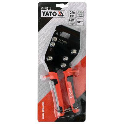 YATO Profieltang plaat 260 mm