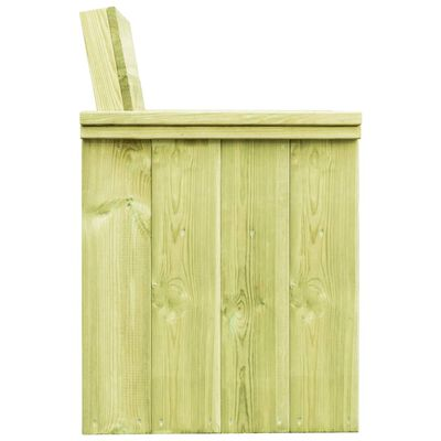 vidaXL Tuinstoel geïmpregneerd grenenhout