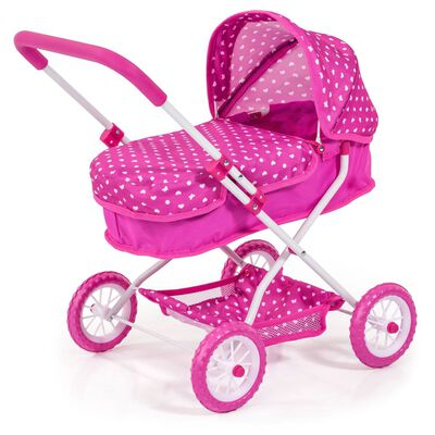 Bayer poppenwagen Smarty roze 58 cm