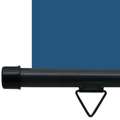 vidaXL Balkonscherm 140x250 cm blauw