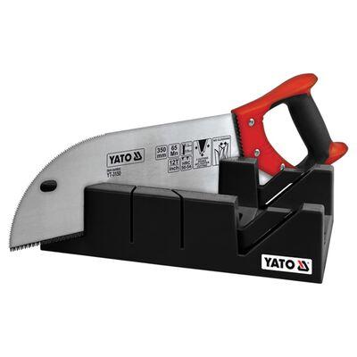 YATO Verstekbak met zwaluwstaartzaag kunststof 350 mm