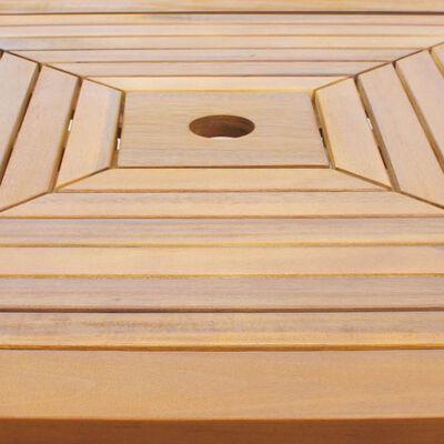 vidaXL Bistrotafel 75x75x110 cm massief acaciahout