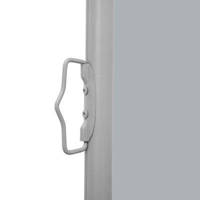 vidaXL Windscherm uittrekbaar 160x600 cm grijs