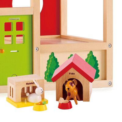Hape huidieren set voor poppenfamilie E3455