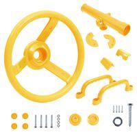 vidaXL Accessoireset voor speeltoren geel