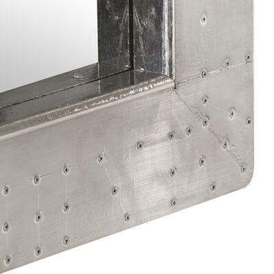 vidaXL Spiegel luchtvaartstijl 50x50 cm metaal