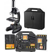 Microscoop Met Koffer 33 Cm Staal Zwart 24-delig