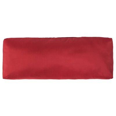 vidaXL Palletkussens 3 st polyester rood