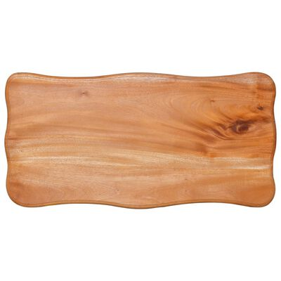 vidaXL Bijzettafel 60x30x60 cm massief mahoniehout