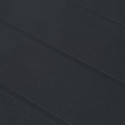 vidaXL 3-delige Tuinset rattan-look kunststof antraciet