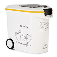 Curver Voedselcontainer Dinner is Served hond met wielen 35 L
