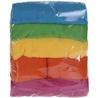 15x Microvezel Schoonmaakdoekjes/dweiltjes 30 Cm -