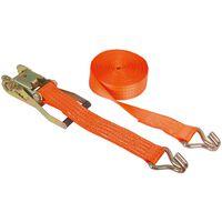 Kerbl Spanband met ratel set 8 m 4000 kg 37140