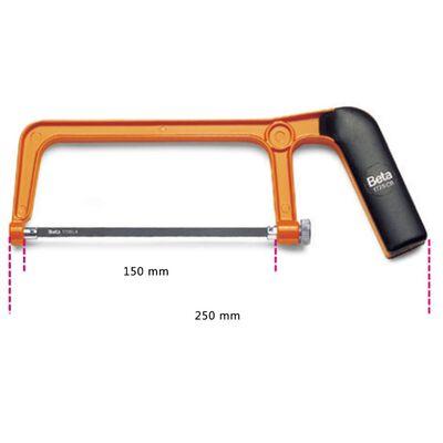 Beta Tools mini beugelzaag 1725CR staal 017250010