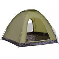 vidaXL Tent 6-persoons groen