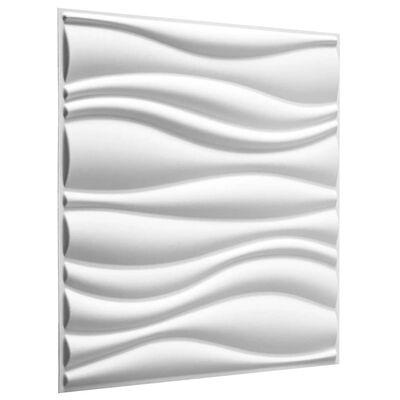 WallArt 3D wandpanelen Waves 12-delig GA-WA04