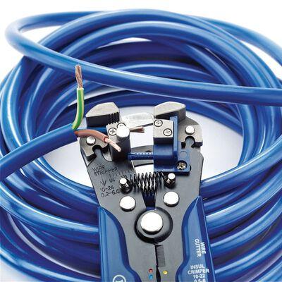 Draper Tools Automatische draadstripper/krimptang blauw 35385