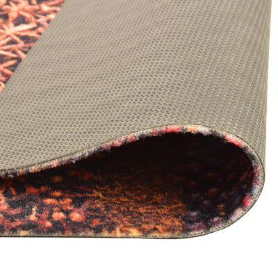 vidaXL Keukenmat wasbaar Spice 45x150 cm