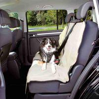 TRIXIE Beschermhoes achterbank voor honden deelbaar 140x120 cm beige