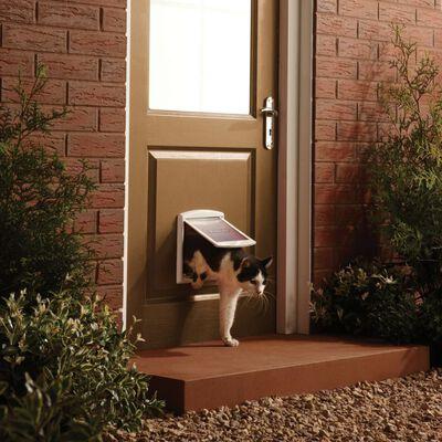 PetSafe Huisdierenluik in 2 richtingen 715 small 17,8 x 15,2 cm wit 5017