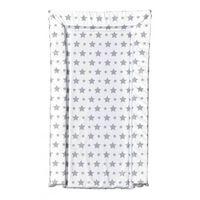 aankleedkussen sterren wit/grijs 72 cm