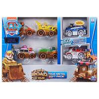Paw Patrol Speelgoedautopakket 6 st True Metal