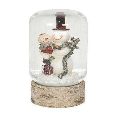 Sneeuwbol | Ø 6*10 cm | Multi | Polyresin / glas | rond |