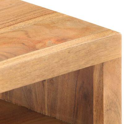 vidaXL Salontafel 90x45x40 cm massief acaciahout