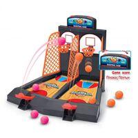 basketball game 41 cm zwart/oranje