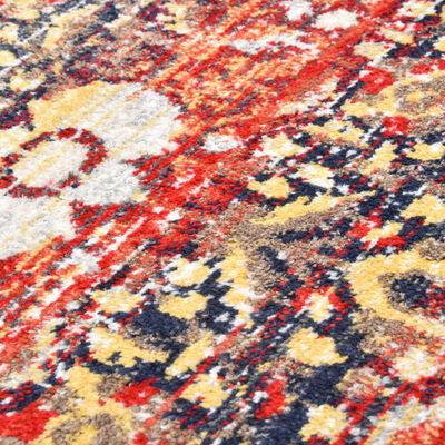 vidaXL Vloerkleed 80x150 cm PP rood