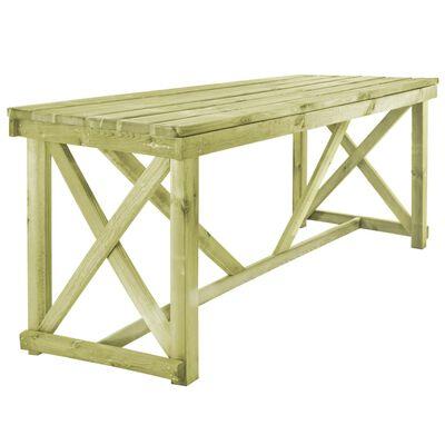 vidaXL Tuintafel 160x79x75 cm hout