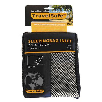 TravelSafe 2-persoons lakenzak envelop katoen TS0317
