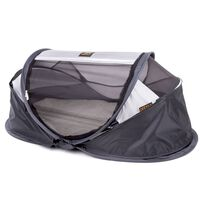 DERYAN Windscherm Baby Luxe 100x30x0,5 cm grijs