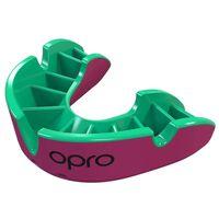 Opro sportbitje Self-Fit GEN4 silver junior roze/groen