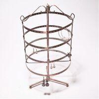 192-gaats metalen oorbellen sieraden / juwelen Display / Show hangende