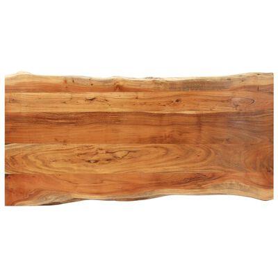 vidaXL Boomstamtafel 3,8 cm 180 cm massief acaciahout