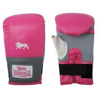LONSDALE Trainingshandschoenen jab L/XL roze en grijs