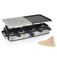 Princess Gourmetstel Deluxe raclette en steengrill 8-persoons 1400 W