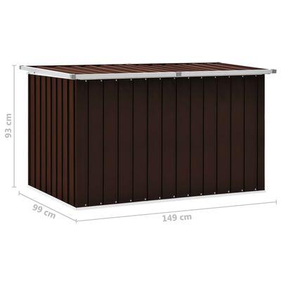 vidaXL Tuinbox 149x99x93 cm bruin