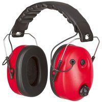 Kerbl Gehoorbescherming Noise-Cancelling rood en zwart 34490
