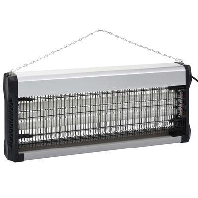 vidaXL Insectenverdelger 60 W aluminium ABS zwart