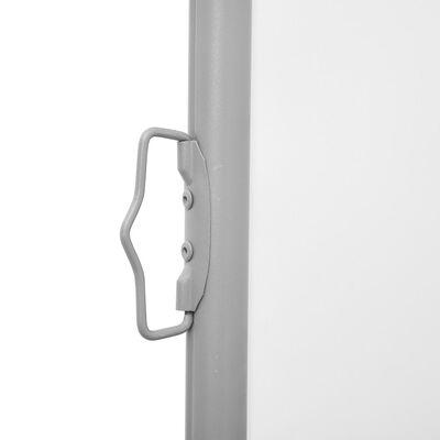 vidaXL Tuinscherm uittrekbaar dubbel 170x600 cm crème